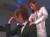 Killing Japanese Office Lady Is Satisfying Dick In The Office