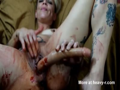 Bloody And Shitty Anal Game