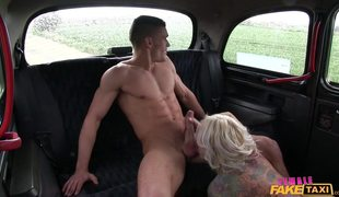 Tattooed Slut Jarushka Blackmailing Her Client For A Quickie