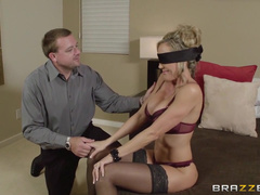 Blindfolded Brandi Love Receives Rough Fucking Punishment