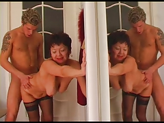 Russian Older Woman Is Having Wild Sex With Her Partner