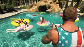 Trans Pool Party Lena Kelly Janelle Fennec Casey Kisses Natalie Mars