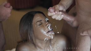 Ebony Plumper Bukkake