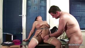 German Plumper Hardcore Sex