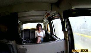 Adorable Ebony Girl Maria Fucks In Fake Taxi