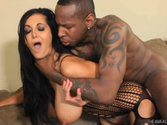 Sultry Ava Addams In Hot Body Stockings Receives Rough Fuck