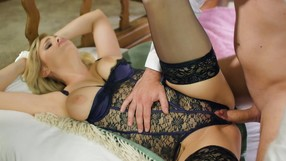Cocktease Blonde Gets Teased And Fucked Hard