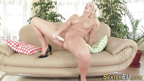 German Bitch Solo Toying