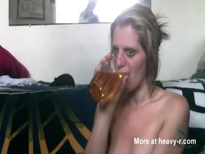 Drinking Fresh Beer