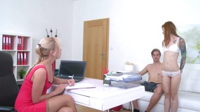 Open-minded Couple Is Ready To Fuck For The Agent
