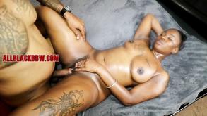 Plump Ebony Got Laid