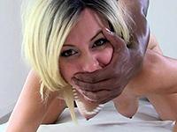Violent Sex With A Bbc Addicted Blonde Slut