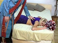 Passed Out Girl Gets Abused By Her Perverted Roommate