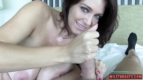 Breasty Amateur Milf Handjob