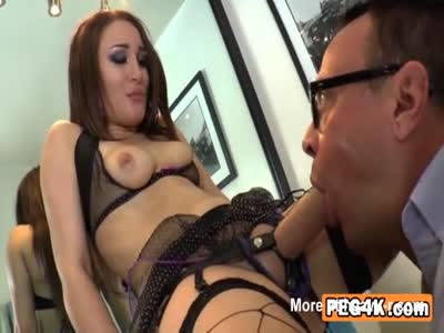 Hardcore Anal Rimming For Boss