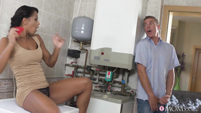 Xxx Ebony Isabella Chrystin Caught Masturbating Near Washing Machine