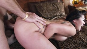 Asian Beauty Likes Being Screwed By White Cock