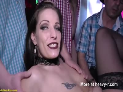 Extreme Anal Party With Super Slut
