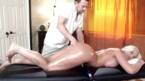 Masseur Drills The Ass Of A Cheating Wife