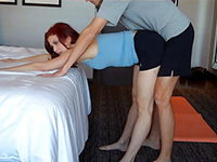 Mom's Yoga Lesson Turns Into A Fucking Session