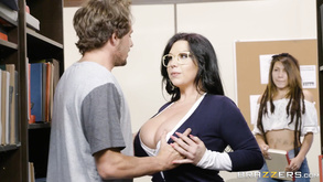 Lovable Busty Mom At Brazzers Our College Librarian