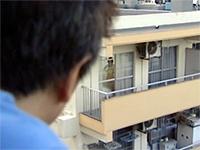 Dirty Japanese Stalker Spying On Teen Neighbors