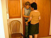 Mature Housewife Cornered And Attacked Teenage Boy