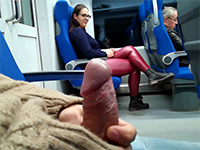 Stranger Jerked And Sucked Him Off In The Train