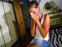 Girl Starts Crying After Realizing That There Is No Escape From Filthy Uncle