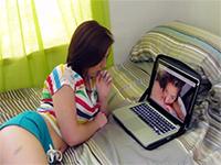 Boy Was Ashamed When His Girlfriend Caught Him Watching Porn
