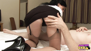 Full Breasted Girl With Stockings Takes Care Of Chopper Analdin