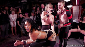 Interracial Group Fucking Tormenting And Fornicating