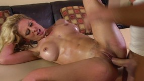 Wife With Big Naturals And Abs Cheats Her Husband