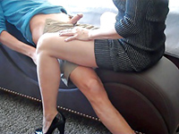 Sexy Mature Mom Teaches Naughty Boy A Lesson