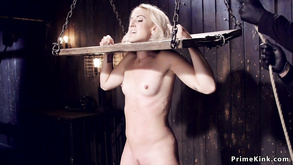 Blondie In Device Bondage Made Squirting