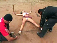Brazilian Schoolgirl Intercepted, Tied And Brutally Molested On Her Way Home