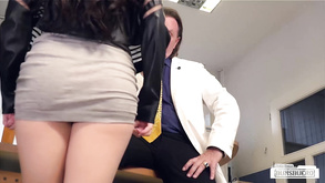 Sex At The Office With Cum On German Pussy Bums Buero