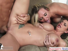 Brooklyn Chase Catches Brooke Wylde Having Sex And Joins