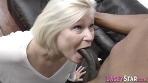 Plowed Grandma Sucking Big Black Cock Low Quality