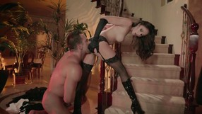 Hardcore Fuck Session For Slutty Brunette In Black Shoes
