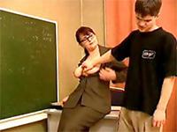 Horny Milf Teacher Seduce Teen Student