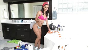 Sweet Brazilian Maid Shows Her Fantastic Body