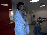 Teen Babe Getting Ready To Shoot A Scene After Bath