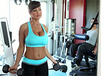 Sexy Milf Seduce Gym Instructor Very Hard