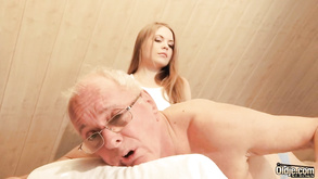 Surprise Massage Alessandra Jane Old And Young Sex Video