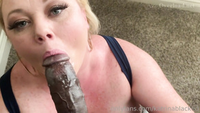 Hot Blond Whore Katrina Blacked Out Interracial