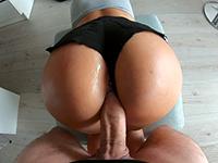 Hot Milf Gets Hard Fucked Through Her Tight Mini Short