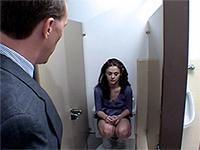 Principal Caught Teen Schoolgirl Smoking Cigarettes In The Toilet