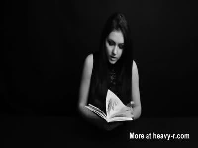 Russian Girl Has Orgasm Reading Book